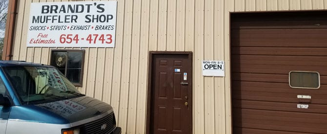 auto repair at mufflers shop in highland il